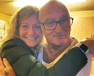 TV tonight Ann Melbourne and her birth father Leslie on Long Lost Family
