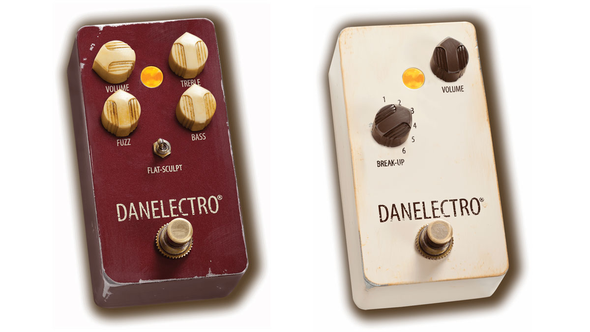 Danelectro unveils new 'vintage pedals', The Eisenhower Fuzz and The Breakdown overdrive