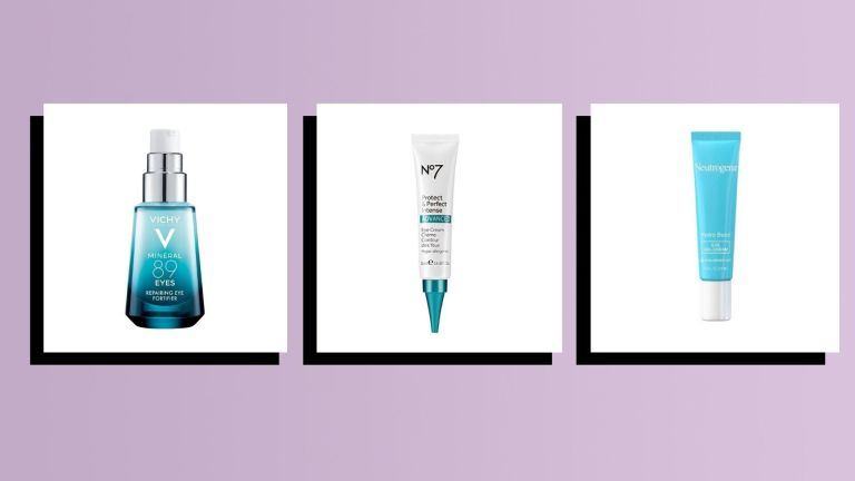 best drugstore eye creams main collage image of top products
