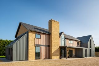 a self build home designed by a chartered architectural technologist