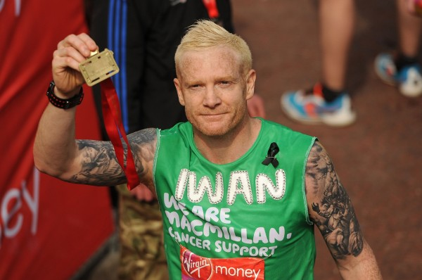 Iwan is a former athlete who now does TV presenting for The One Show (Andrew Matthews/PA Wire/Press Association Images)