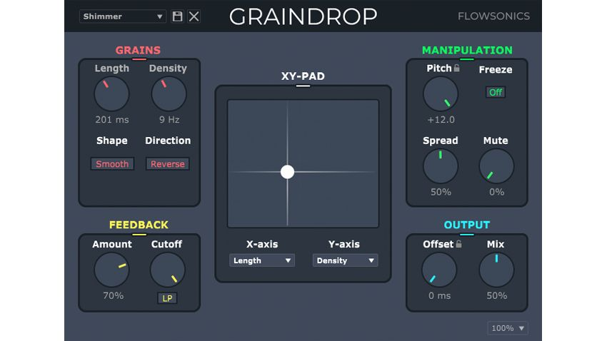 Flowsonics' Graindrop plugin is here to add a splash of granular processing sauce