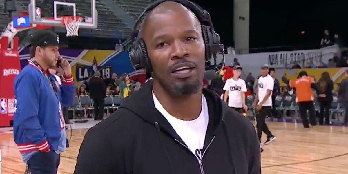 Jamie Foxx on ESPN