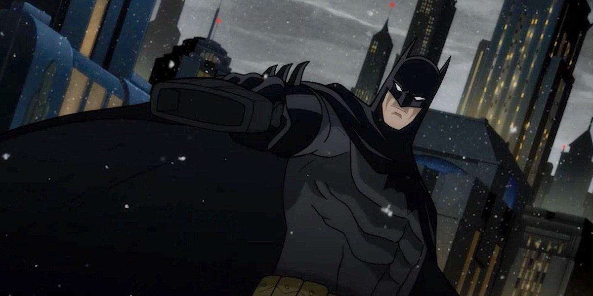 Jensen Ackles' animated Batman in The Long Halloween
