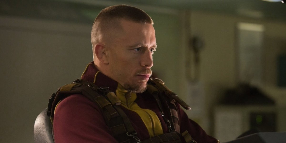 Georges St-Pierre as Georges Batroc in The Falcon and The Winter Soldier.
