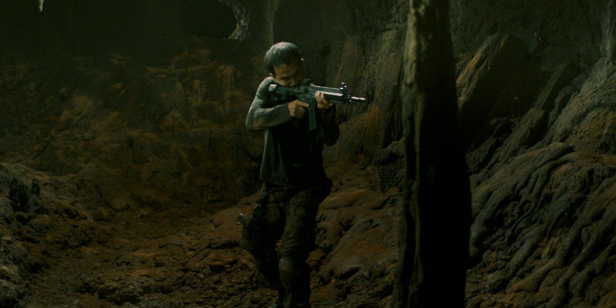 Joe Taslim in Dead Mine