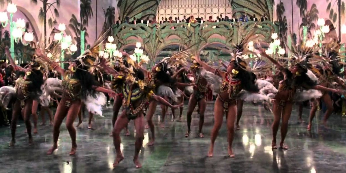 The dance scene from Coming to America