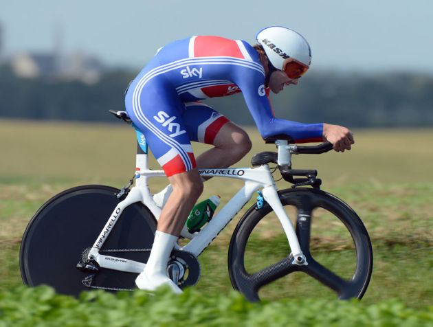 Alex Dowsett, aMen's time trial, Road World Championships 2012