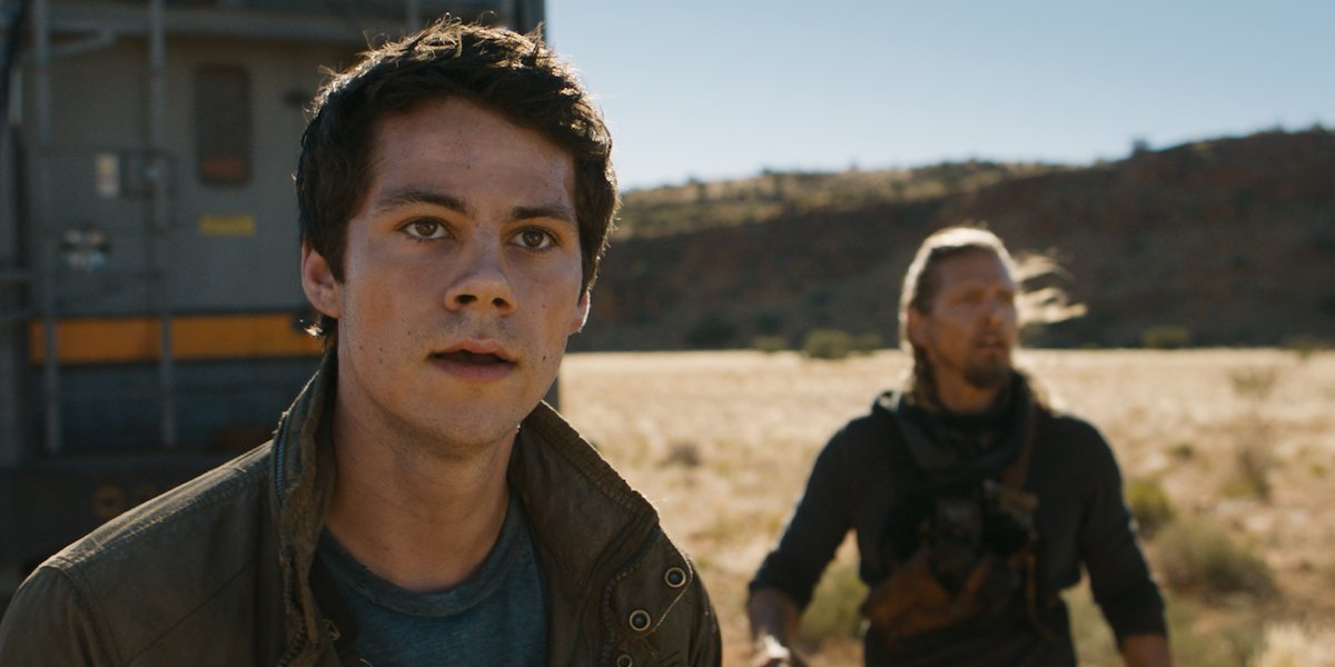 Dylan O'Brien in The Maze Runner