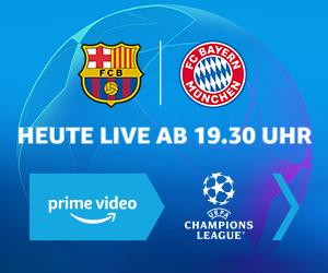 Die UEFA Champions League live bei Amazon Prime Video streamen