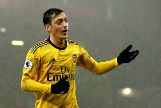 Mesut Ozil has not played for Arsenal since March.