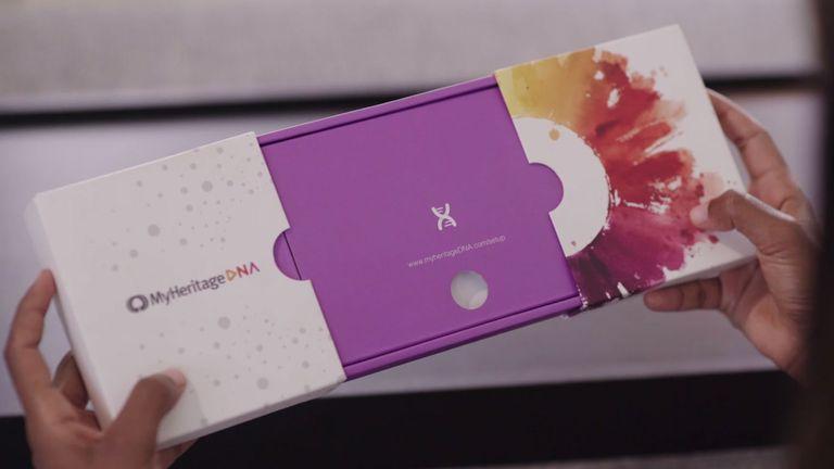 MyHeritage DNA kit