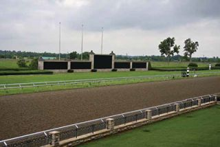 Digital Signage Makes the Winner's Circle at Keeneland Raceway