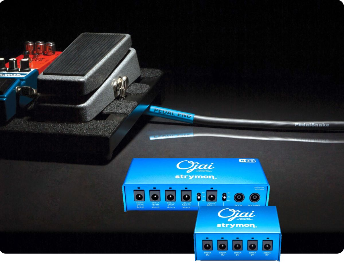 pedalsnake introduces 24v adapters for strymon ojai power supplies guitarworld. Black Bedroom Furniture Sets. Home Design Ideas