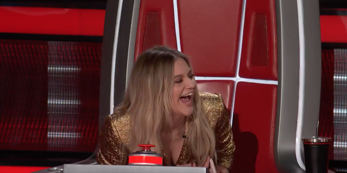 The Voice Kelsea Ballerini laughing