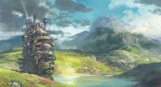 Climb Aboard 'Howl's Moving Castle'