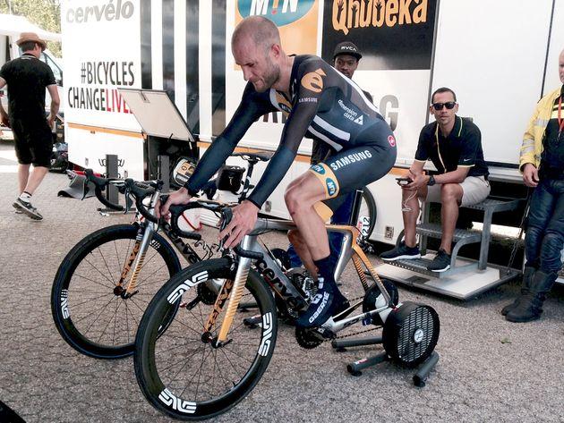 Steve Cummings, 2015 Tour de France stage one TT