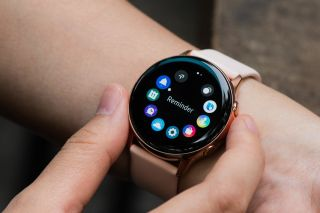 Samsung Galaxy Watch Active, it's a fitness watch that actively gives you advice
