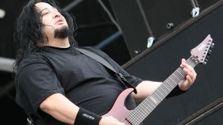 Dino Cazares of Fear Factory and Soulfly