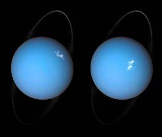 Hubble View of Uranus Auroras