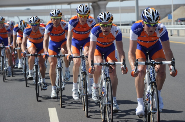 Rabobank, Tour of Oman 2011, stage two
