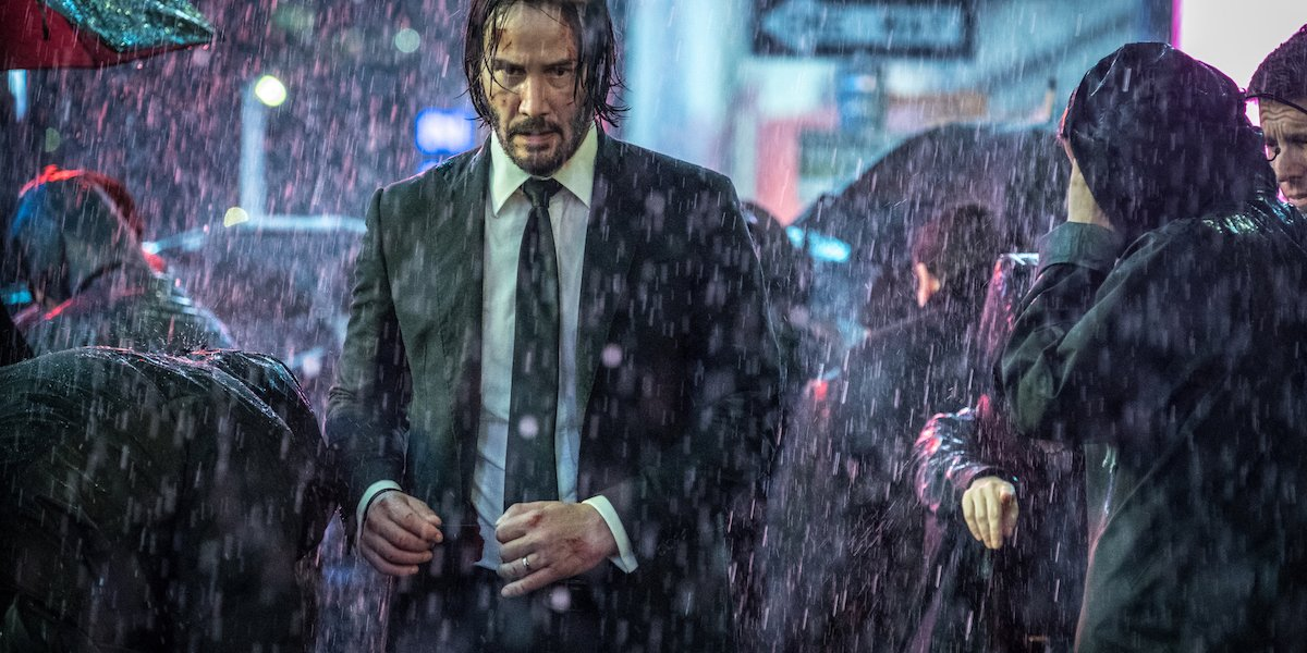 Keanu Reeves as John Wick in Parabellum