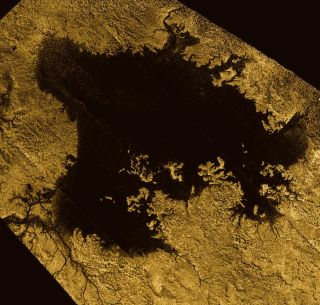 Titan's northernmost giant lake, Ligeia Mare, contains enough vinyl cyanide to form the cell membranes of ten million cells per cubic centimeter.