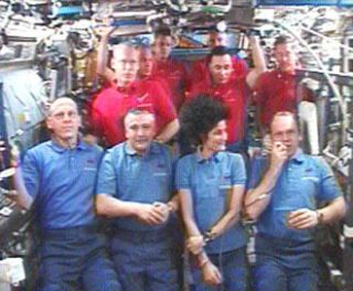 Despite Glitches, Astronauts Keep Spirits High Aboard Space Station