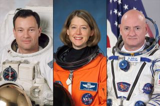 The U.S. Astronaut Hall of Fame will induct Michael Lopez-Alegria, Pamela Melroy and Scott Kelly in a May 2020 ceremony at NASA's Kennedy Space Center Visitor Complex in Florida.