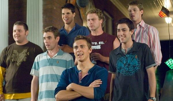 American Pie Presents: Beta House frat guy lineup