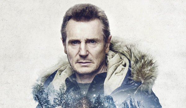 Cold Pursuit's Liam Neeson in official poster 2019