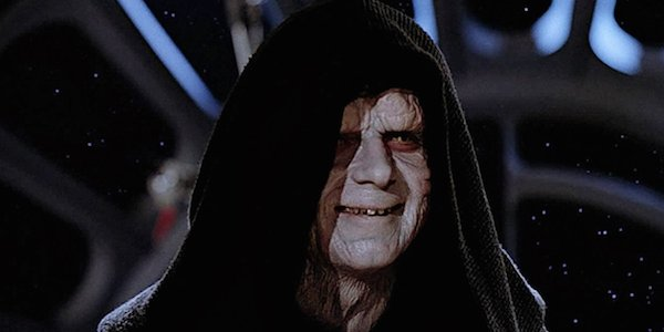 Emperor Palpatine in Return of the Jedi