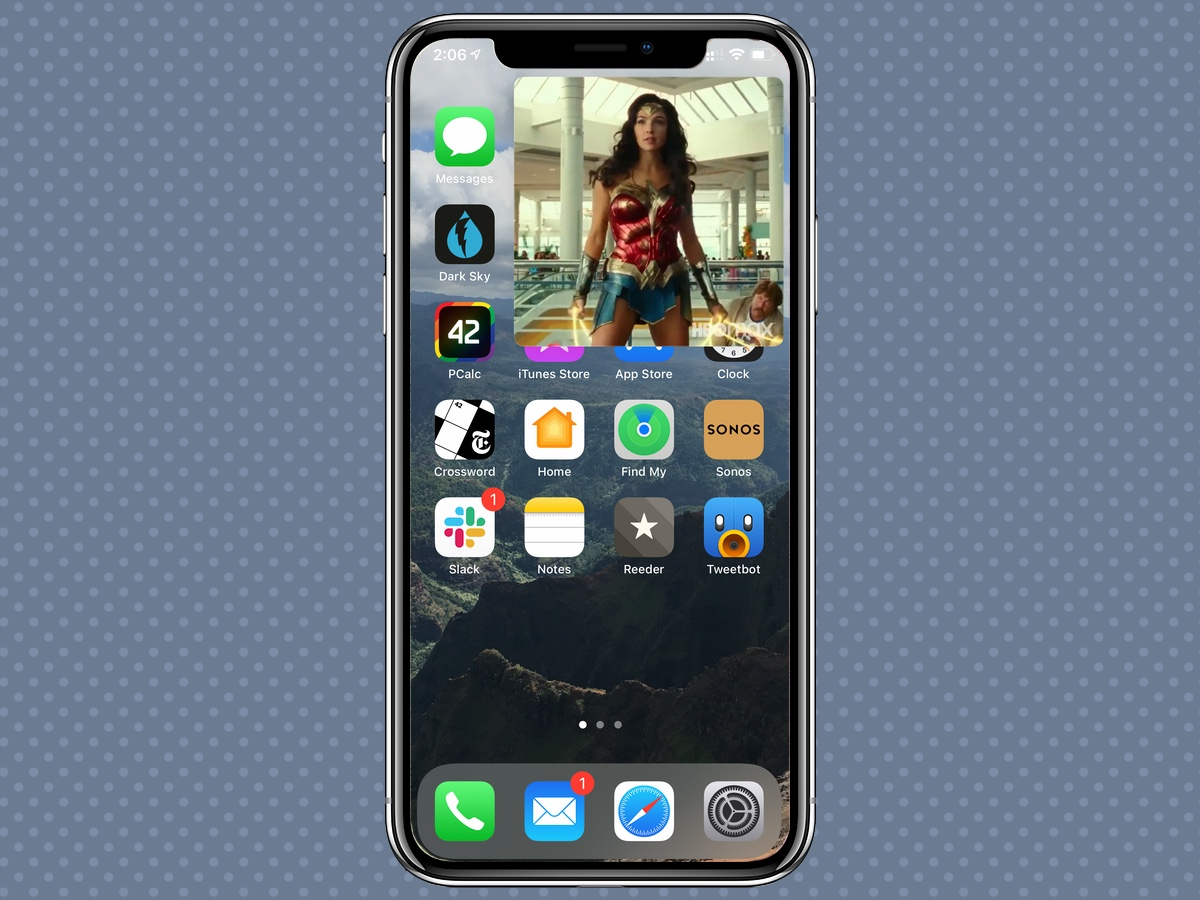 iPhone 12 function can realize picture-in-picture