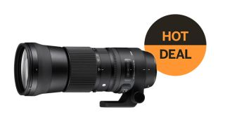Save $190 on Sigma 150-600mm f/5.-6.3 DG OS HSM Contemporary lens