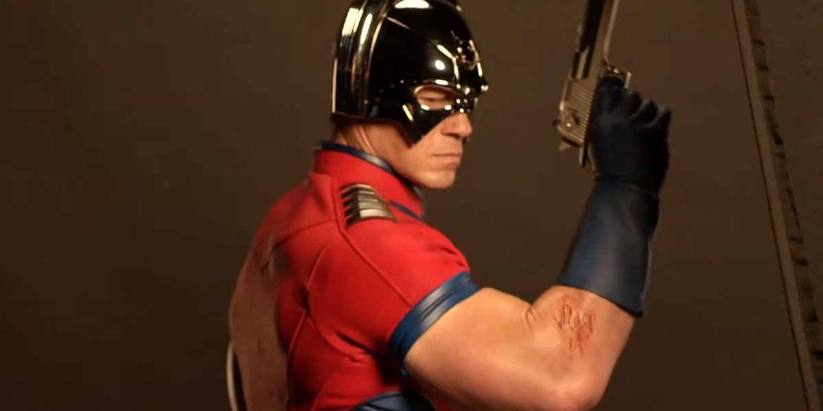 John Cena as Peacmaker for The Suicide Squad (2021)