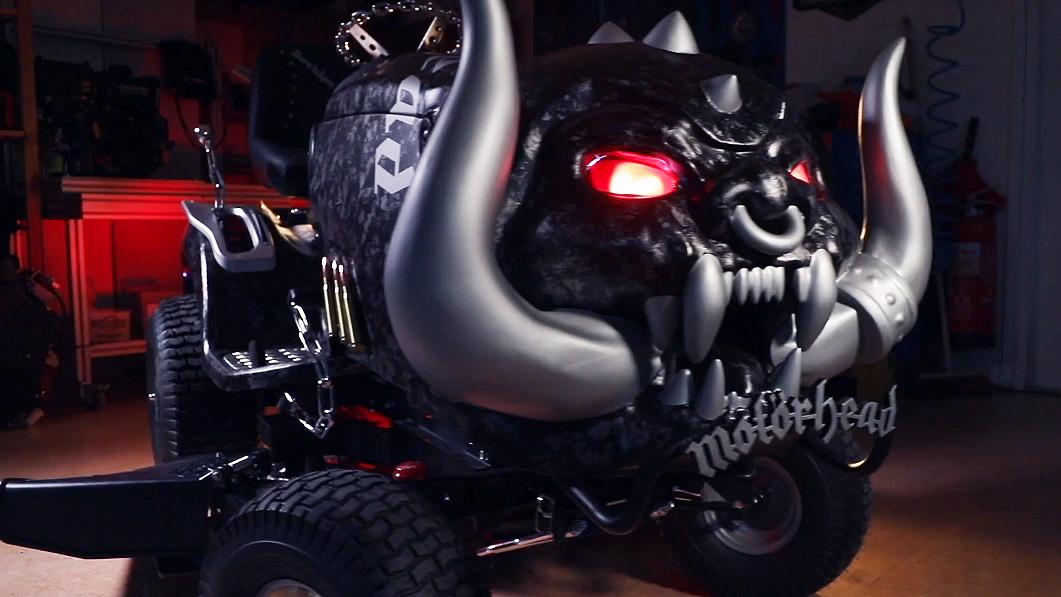 Has Motorhead's Mikkey Dee just created the most metal lawnmower ever? | Louder