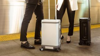 Samsara smart suitcase, one our best smart luggage picks