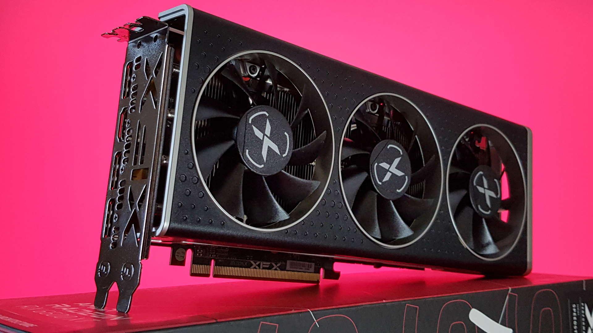 XFX Radeon RX 6600 XT graphics card