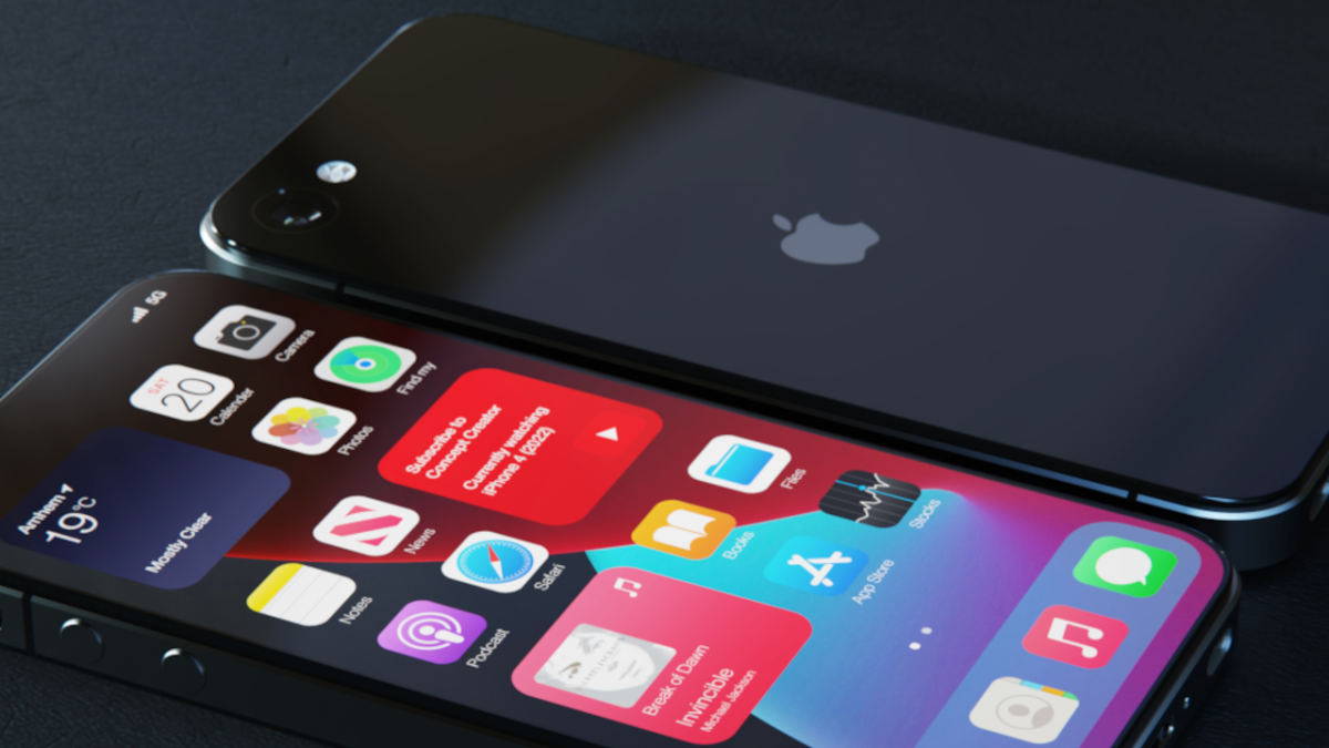 Forget the iPhone 13, this gorgeous iPhone 4 reboot is the one you'll lust over