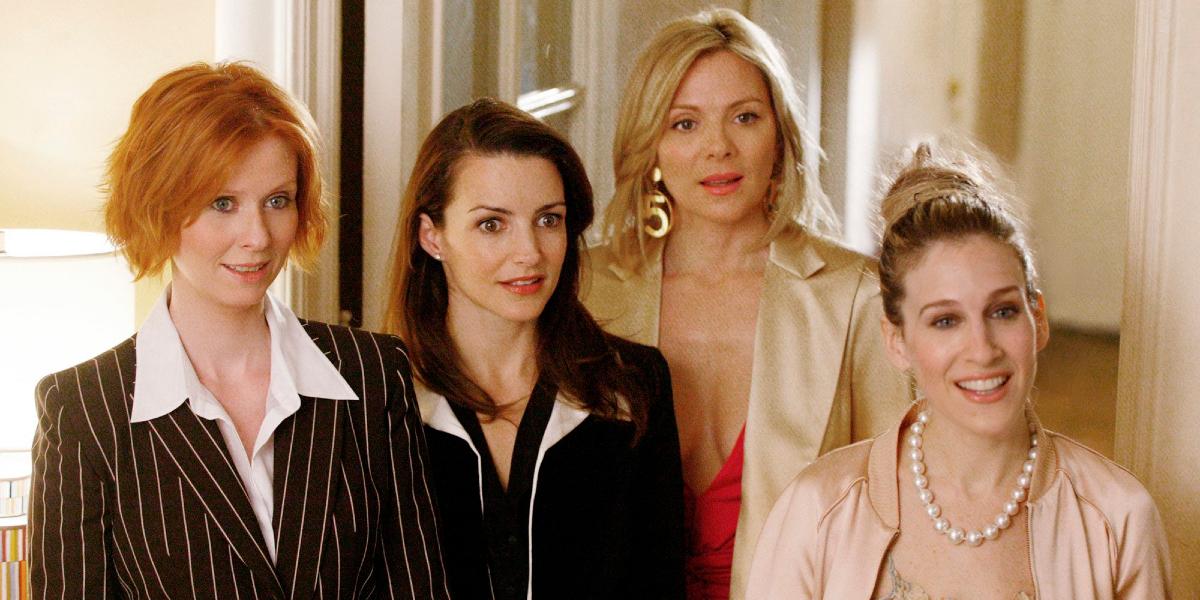 Cynthia Nixon, Kristin Davis, Kim Cattrall, and Sarah Jessica Parker in Sex and the City