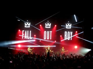 Clay Paky Sharpys Spotlight Fall Out Boy on Tour