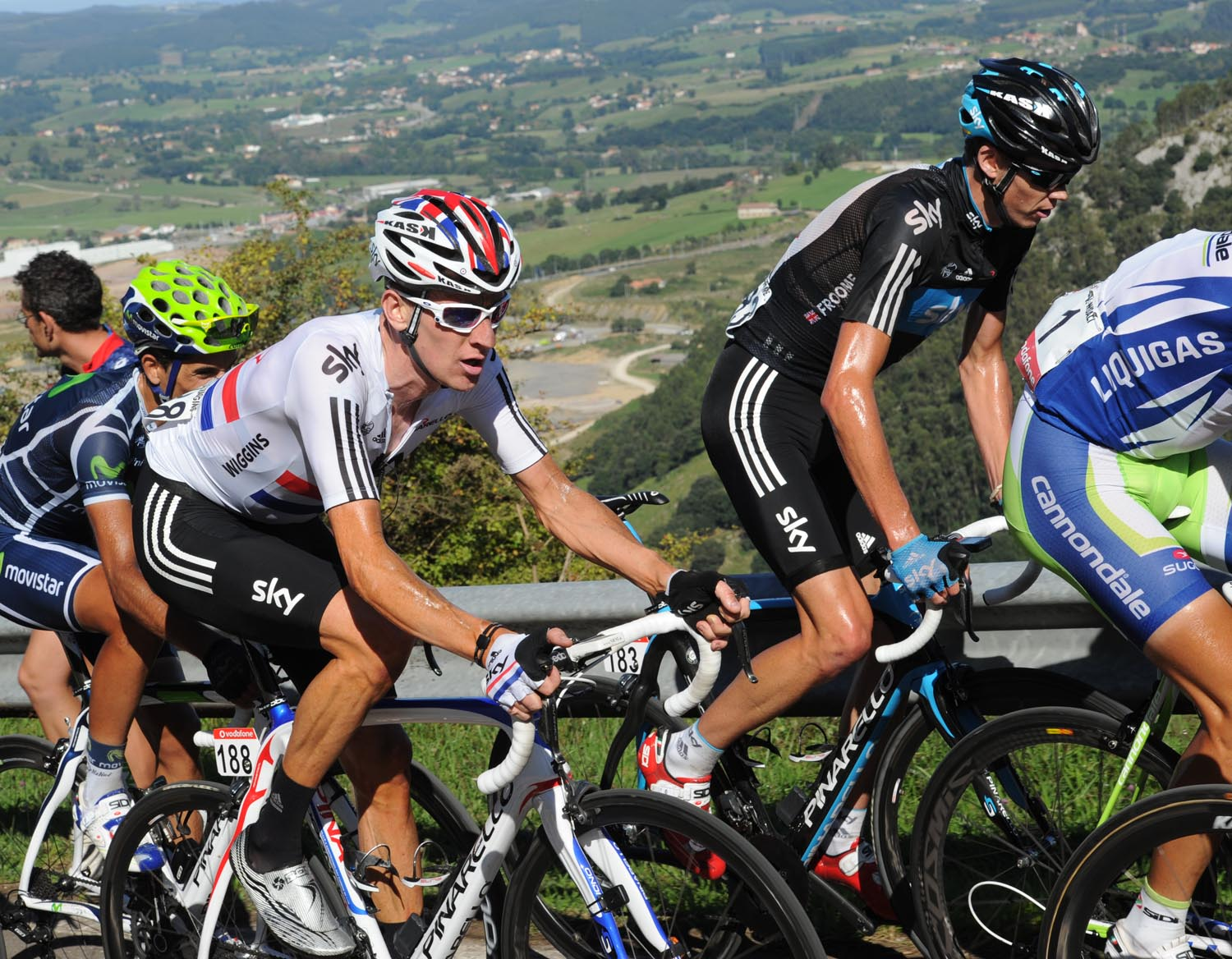 Wiggins and Froome make season debut in Algarve - Cycling Weekly