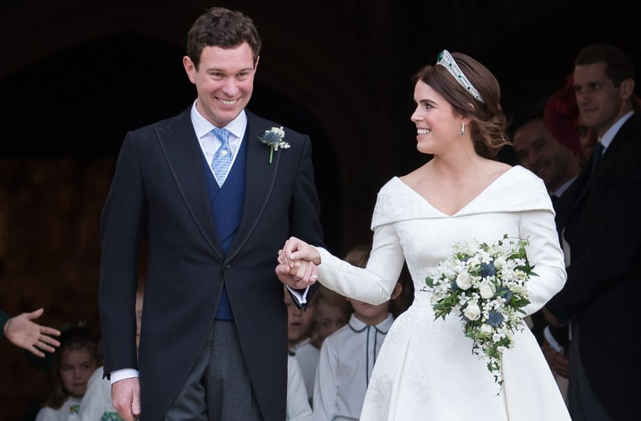 princess eugenie first wedding anniversary tribute video