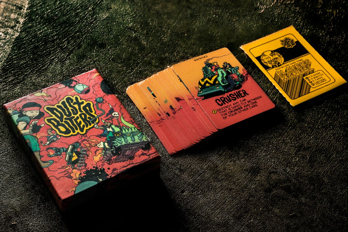 Nuclear Throne, Sludge Life, and Broforce devs team up for a slick little card game