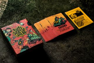 Dustbiters card game