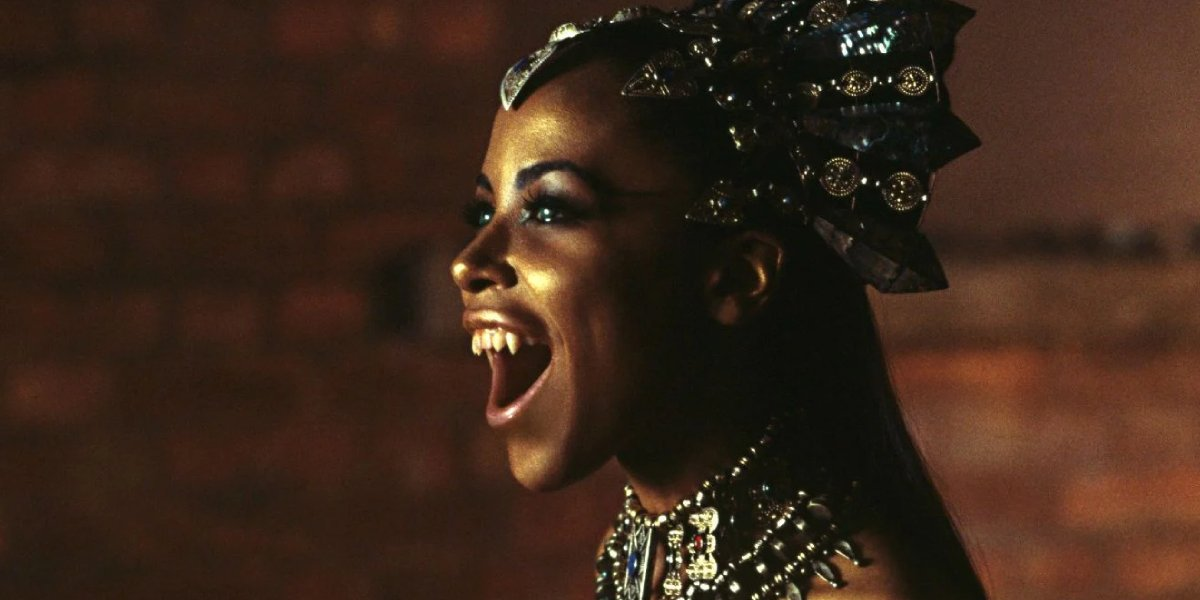 Aaliyah in Queen of the Damned