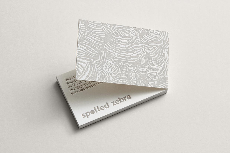 Spotted Zebra branding