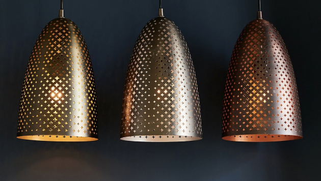 moroccan style light from b&q