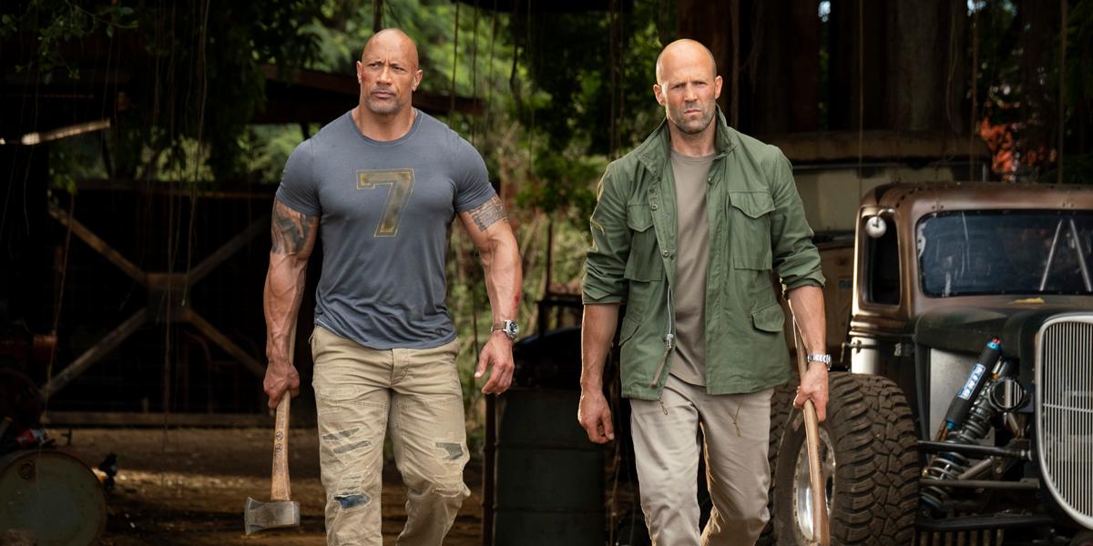 Fast & Furious Presents: Hobbs & Shaw Dwayne Johnson and Jason Statham