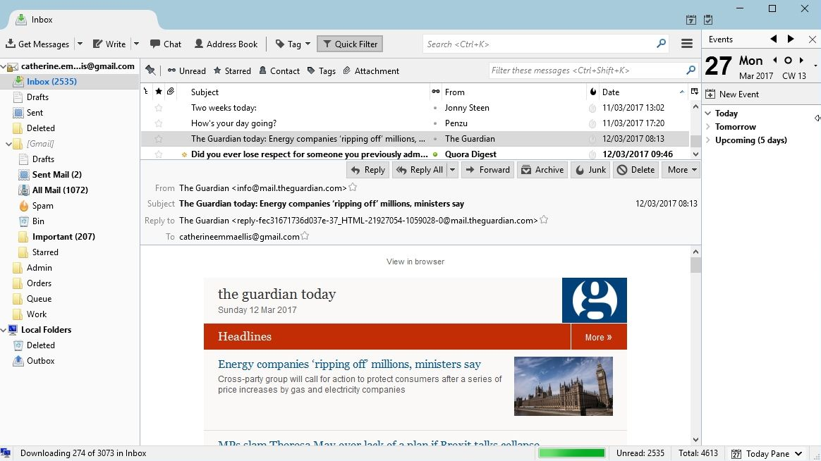 Mozilla Thunderbird review and where to download review | TechRadar